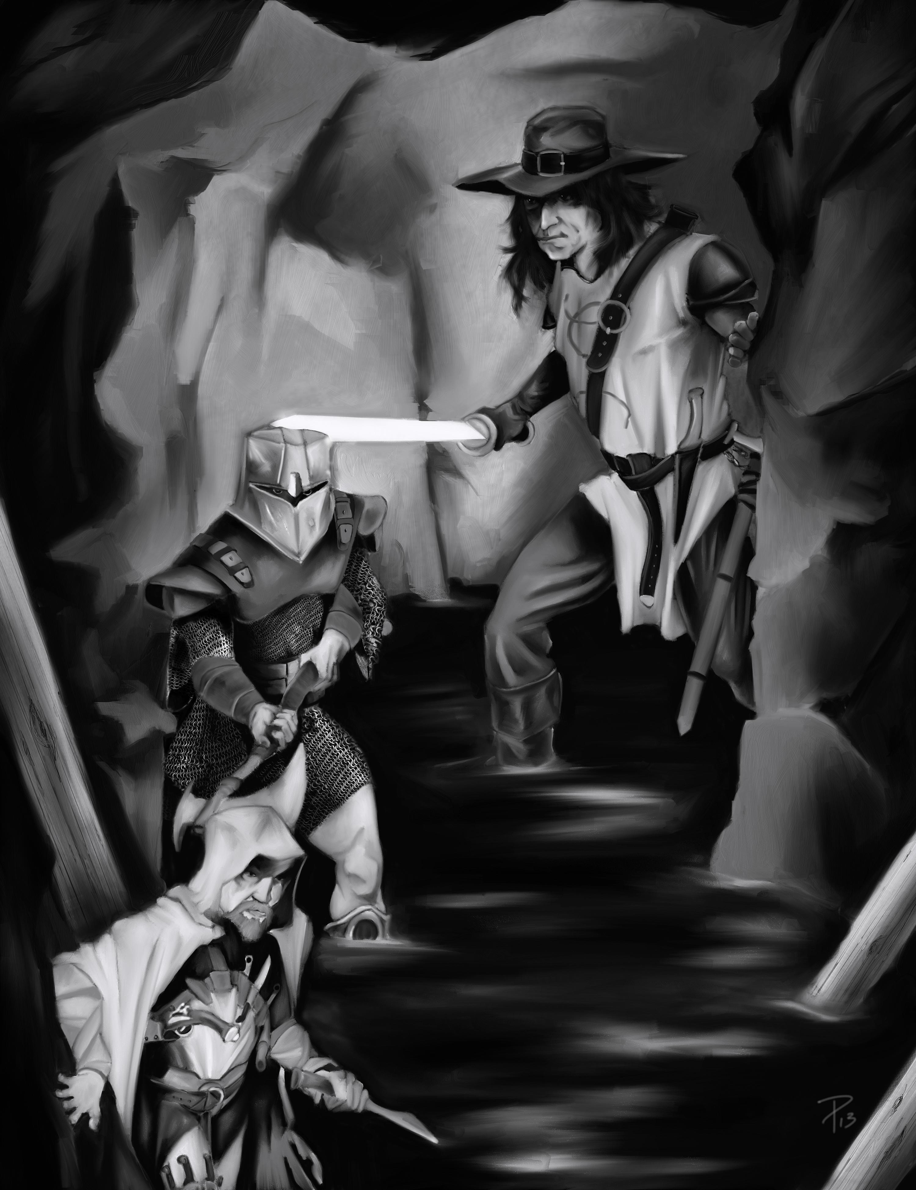 shader trio bw