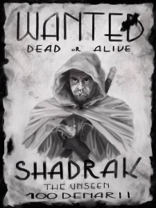 Shadrak Wanted